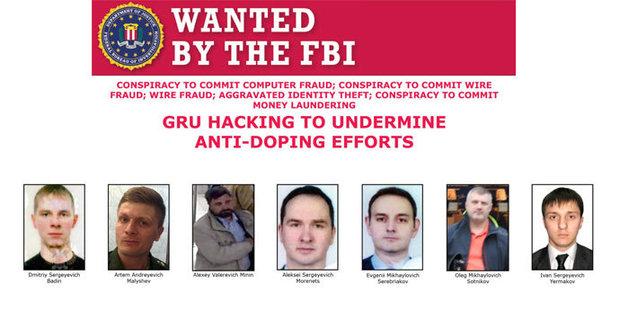 FBI ukázala tváře ruských hackerů: Útočili na americké volby i v Nizozemsku