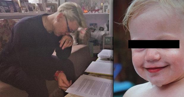 Dianka (†1,5) zemřela mámě v náručí: S tímhle máme zkušenosti, řekli Janě lékaři