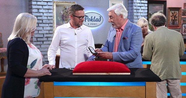 Jan Rosák představil svůj nový pořad Poklad z půdy.