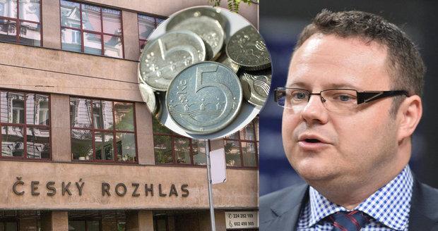 Český rozhlas i ČT natáhly ruku: O kolik chtějí zvýšit koncesionářský poplatek?