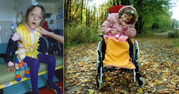 Sbírka pro Charlottku (11) s obrnou: Aby se mohla léčit v Česku, pekli koláče pro charitu