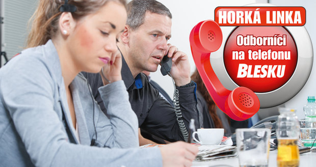 Odborníci na telefonu Blesku