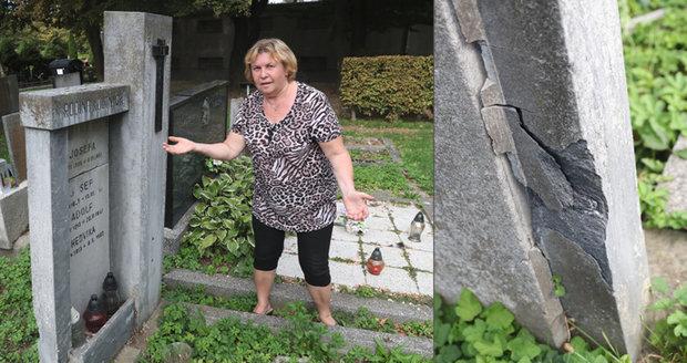 Ombudsman Blesku: Když se kácí, ničí se náhrobky