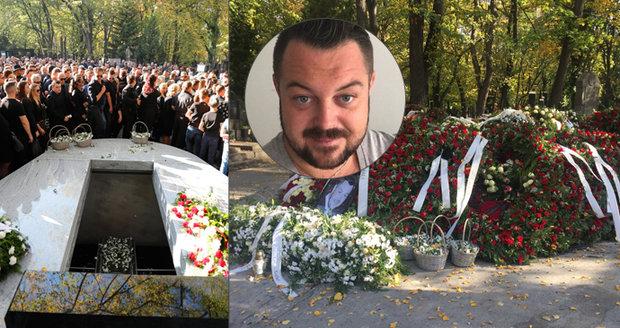 Pompézní pohřeb světského prince Jana Kočky ml. (†28): Milion korun jen za květiny!