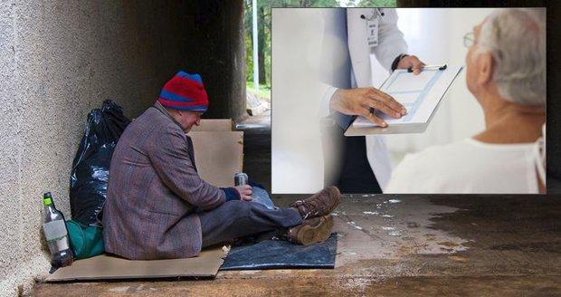 Bezdomovec předstíral měsíce vážnou nemoc, aby mohl přespávat v nemocnicích