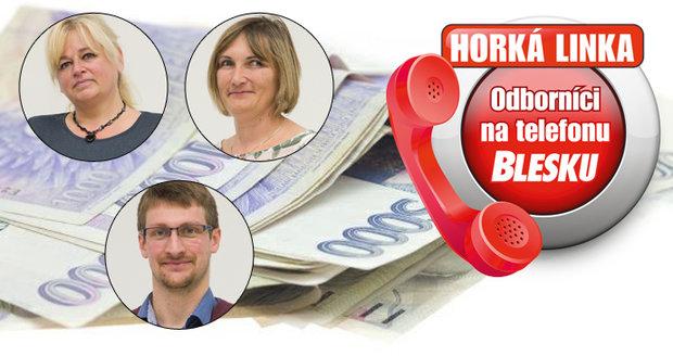 Na Horké lince Blesku budou odborníci z České správy sociálního zabezpečení