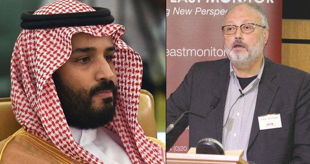 """""""Proč ten povyk?"""" Saudský princ nechápe, proč svět dělá ze smrti novináře vědu"""