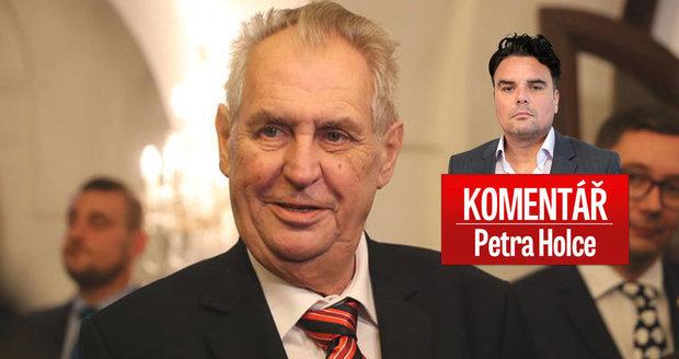 """Komentář: Zeman se smál vtipu o zabitém novináři. 28. říjen oslaví """"po saúdsku"""""""