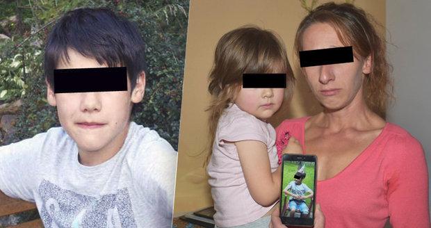 Konec pátrání po 8 dnech: Školáka (13) skrývala vlastní matka?! Otec naznačil děsivé podezření