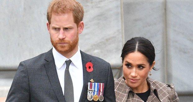 Těhotná Meghan a princ Harry
