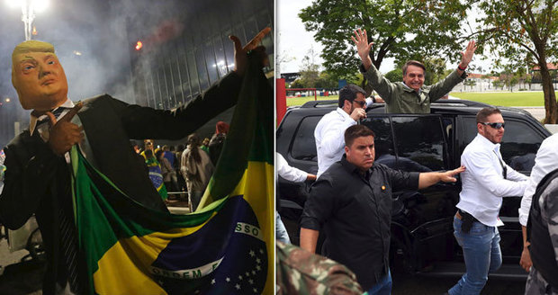 """Homosexualitu vyléčí bití, opozici nechám zavřít."" Brazílii povládne extremista Bolsonaro"