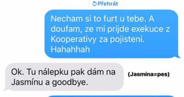 Anna Kadeřávková s Johanem Mádrem spolu vtipkují i po rozchodu.