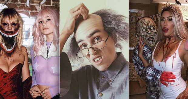 Neuvěřitelné masky českých celebrit na Halloweena