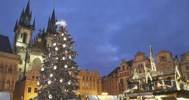 Vánoční trhy na Staroměstském náměstí, 2017