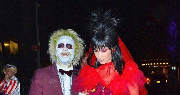 55a4a1f8baa Halloween v podání hvězd Hollywoodu  Masky za kupu dolarů neměly chybu!