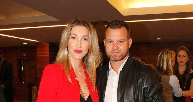 Dominika Mesarošová s partnerem