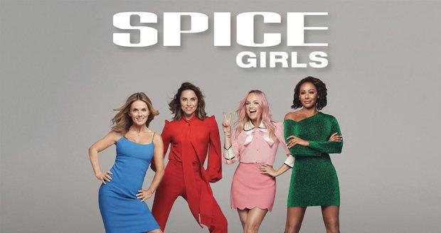 Plakát ke comebackové tour Spice Girls