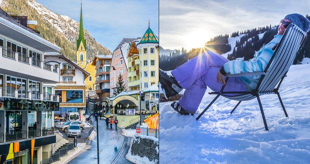 Rakouský Ischgl nabízí perfektní lyžování.