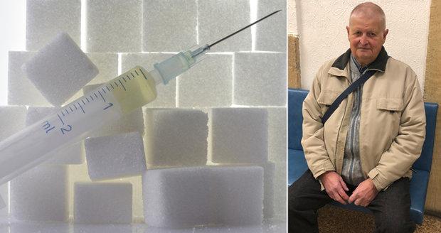 Cukrovkář Jaroslav nemá nárok na nové léky. Je příliš vzorný pacient