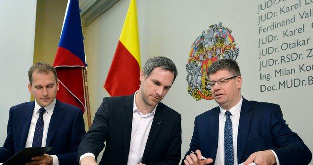 Nové vedení Prahy podepsalo koaliční smlouvu.