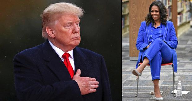 Potrat, umělé oplodnění i znechucení Trumpem. Obamová si v nové knize nebere servítky