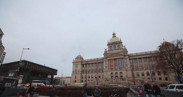 Historická budova Národního muzea.