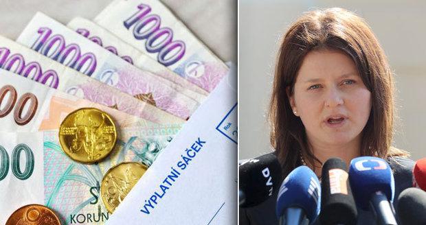Minimální mzda opět poskočí: Od ledna se zvýší na 13 350 korun, odbory žádaly víc