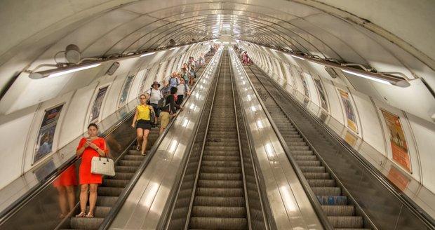 Ilustrační foto. Pražské metro