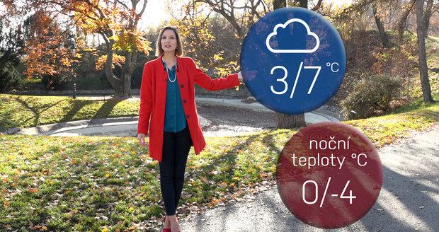 Počasí s Dagmar Honsovou: Víkend přinese první krok do zimy. Na horách až -10°C