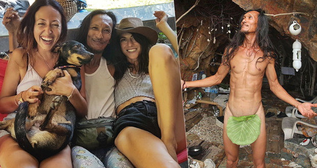 Lechtivé eskapády Thajce, který chodí nahý a žije jako pračlověk: Do jeskyně vodí turistky na sex!