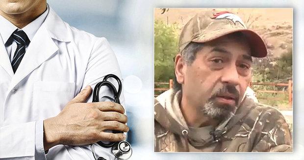 Muž pět let chodil na chemoterapii zbytečně: Rakovinu jste nikdy neměl, řekl mi doktor