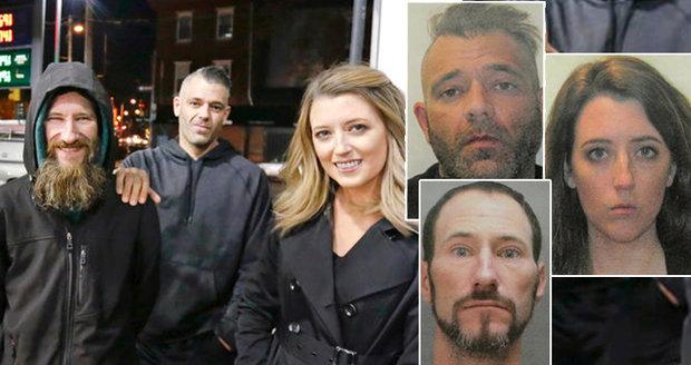 Dvojice díky virální kampani vybrala miliony pro mladého bezdomovce: Všichni tři jsou podvodníci!