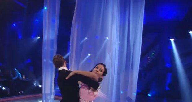 Veronika Arichteva s tanečníkem Michalem Necpálem.