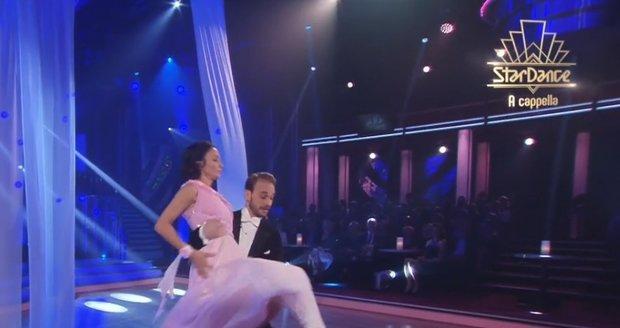 Veronika Arichteva s tanečníkem Michalem Necpálem