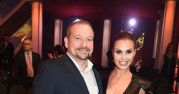 Marek Taclík s tanečnicí Martinou Markovou na StarDance