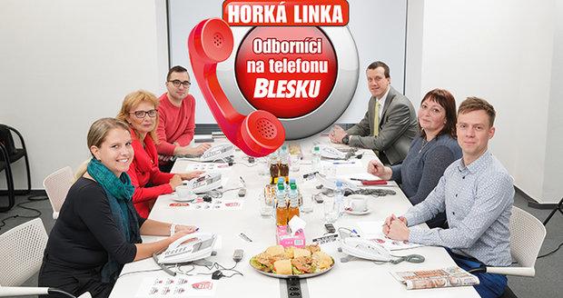 Odborníci na telefonu Blesku poradí i letos. Poprvé už v úterý 15. října.(ilustrační foto)