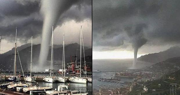 Masivní tornádo v dovolenkovém ráji: Strhalo střechy, místní jsou v šoku