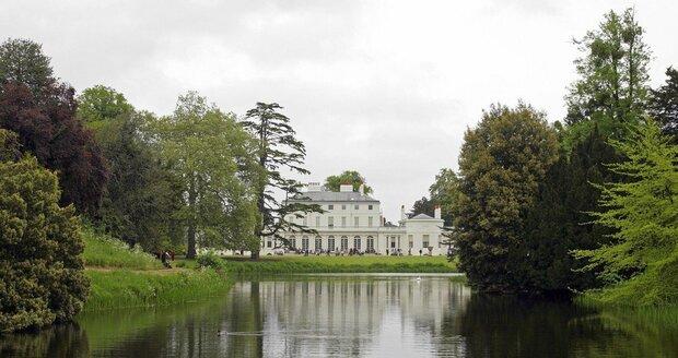 Frogmore Cottage se nachází v parku nedaleko hradu Windsor