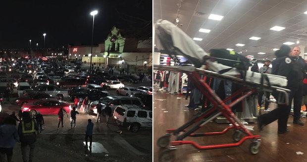 Střelba v obchodě na Black Friday: Honza popsal hrůzu, která se odehrála v nákupním centru