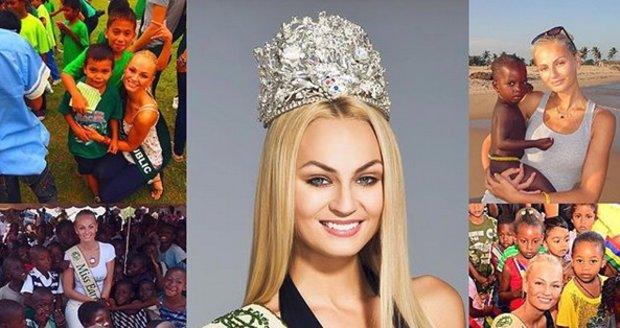 Miss Earth 2012 Tereza Fajksová si připomíná výročí 6 let od výhry.
