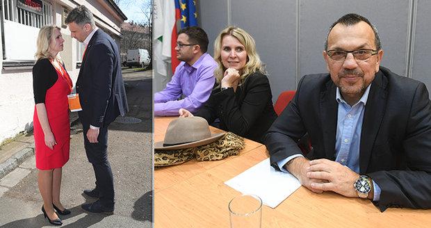 """""""Neviditelná"""" žena zmizí z čela ČSSD. Ani boxer Foldyna zatím kandidovat nechce"""