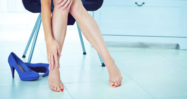 Bolest nohou nás může někdy pořádně potrápit.