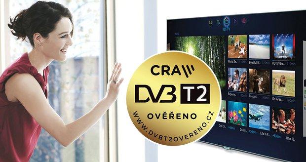 Tři tisíce na novou televizi: Česko podpoří přechod na DVB-T2 kampaní za miliony