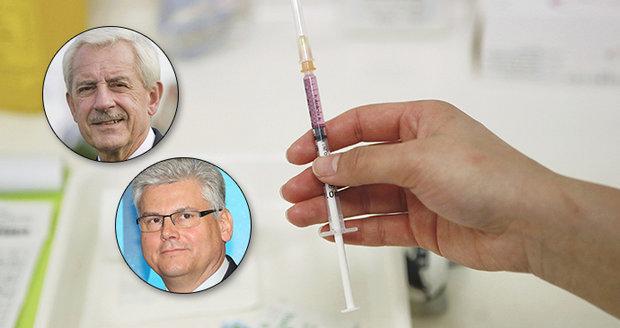 """""""Lajdáci"""" mezi exministry i hlavní hygienička: Kdo """"kašlal"""" na očkování proti chřipce?"""