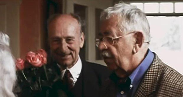 Stanislav Zindulka a Vlastimil Brodský ve filmu Babí léto