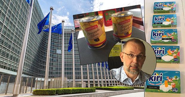 """""""Horších potravin v Česku je málo,"""" tvrdí úředník EU. Normy na salám odmítá"""