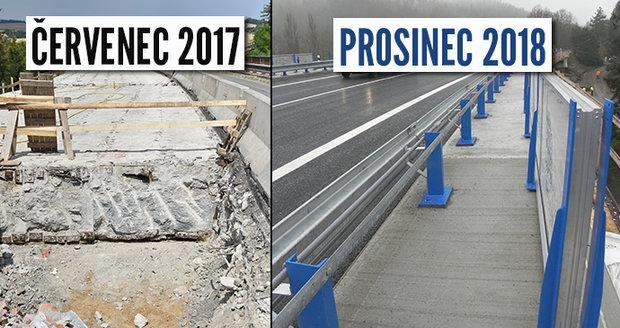 Nejhorší most v republice nahradil nový: Černé Hoře se uleví od tisíců aut denně