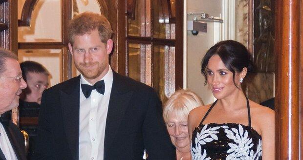 Letošní královské Vánoce už Harry a Meghan stráví jako manželé.