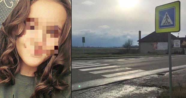 Kristínku (†16) srazil bezohledný řidič na přechodu. Chyběl jen krok a mohla být naživu!