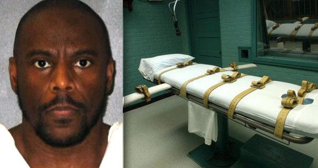 Poslední slova odsouzence před popravou: Zavraždil muže a jeho manželku znásilnil